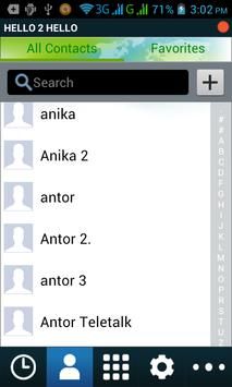 HELLO 2 HELLO apk screenshot