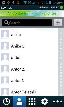 LUX TEL apk screenshot