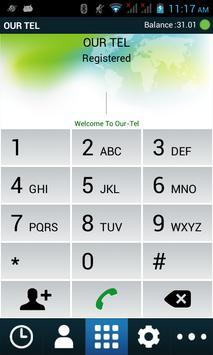 OUR TEL apk screenshot