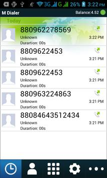 M Dialer-mid apk screenshot