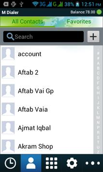 M Dialer-mobile apk screenshot