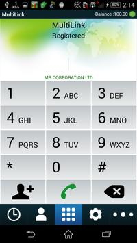 Multilink apk screenshot
