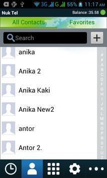 NukTel Plus apk screenshot