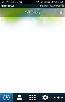 HelloCard Itel Platinum apk screenshot