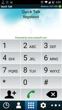 QuickTalk Dialer apk screenshot