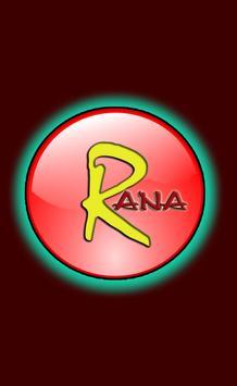 RANA TEL poster
