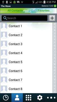 Wave Mobile Dialer apk screenshot