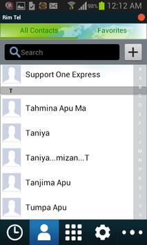 Rim Tel apk screenshot