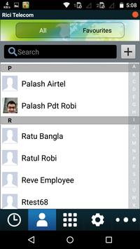 Rici Telecom Mobile Dialer apk screenshot