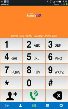 Santosh VoIP apk screenshot