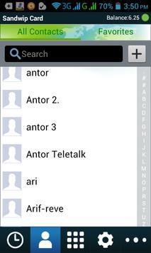 Sandwipcard apk screenshot