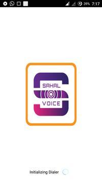 Sahal Voice poster