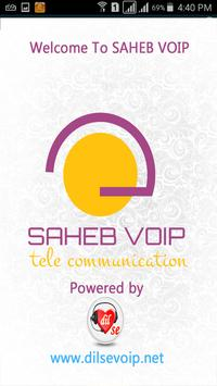 Saheb VoIP poster