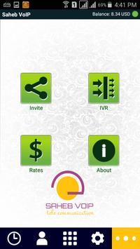 Saheb VoIP apk screenshot