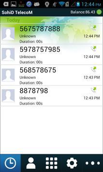 SohiD TelecoM apk screenshot