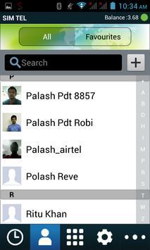 SIM TEL apk screenshot