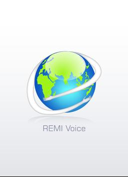 REMI Voice poster