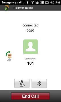 iTelHybridDialer apk screenshot