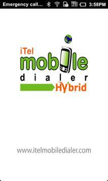 iTelHybridDialer poster