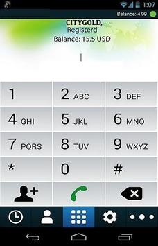 citygold dialer apk screenshot