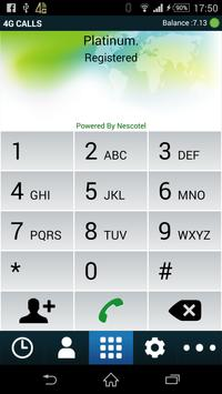 4G calls apk screenshot