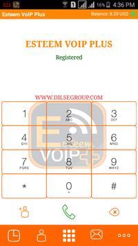 Esteem VoIP Plus apk screenshot