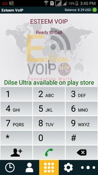 Esteem VoIP Mobile Dialer apk screenshot