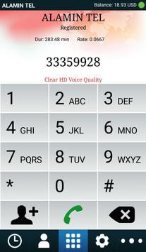 ALAMIN TEL Mobile Dialer apk screenshot