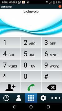 Lichu Voip Platinum Dialer apk screenshot