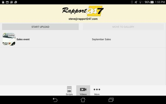 Rapport 24/7 apk screenshot