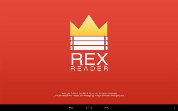 Rex eReader apk screenshot