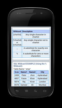 Learn SQL - Easy Way apk screenshot