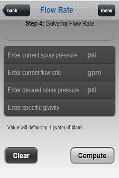 SprayWare Spray Calculator apk screenshot