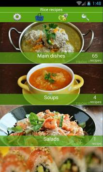 Rice recipes poster