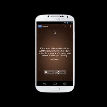 Inspire apk screenshot