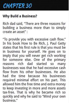 Rich Dads To Investing Free apk screenshot