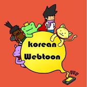 Korean webtoon collection icon