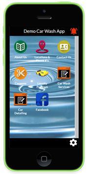 Demo Car Wash App poster