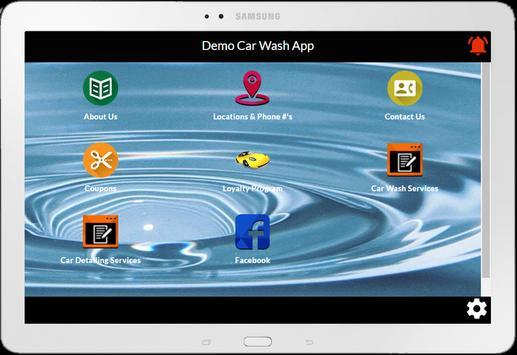 Demo Car Wash App apk screenshot