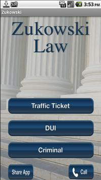 Zukowski Law Firm poster