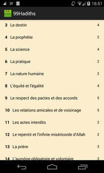 99 Hadiths du prophète saws FR poster