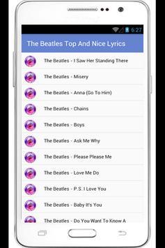 The Beatles Complete Lyrics poster