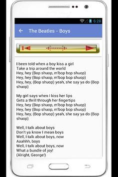 The Beatles Complete Lyrics apk screenshot