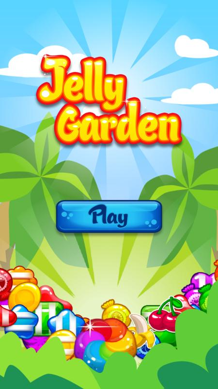 Sweet Fruit Jelly Garden Saga APK Download Free Puzzle GAME for