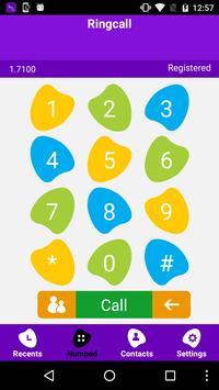 RingCall apk screenshot