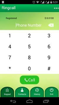 RingCall Plus apk screenshot