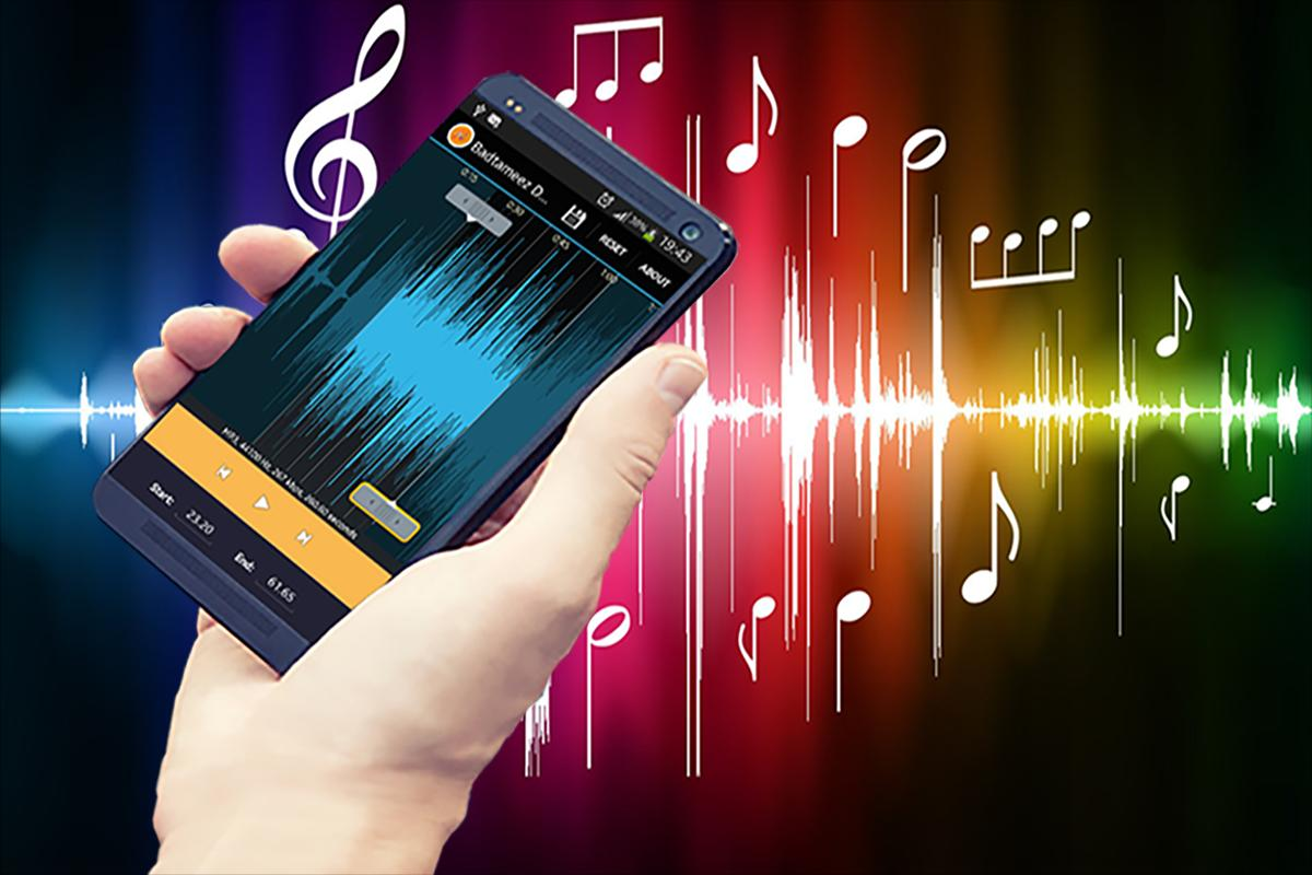 Phone Free Mp3 Ringtones For Android Phones mp3 cutter ringtone editor apk download free music audio app poster
