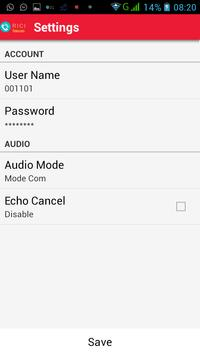 Rici Express Dialer apk screenshot