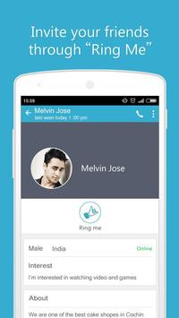 Ringr Telephony Free Calls apk screenshot