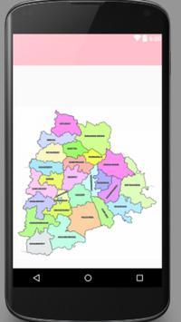 Telangana New Districts apk screenshot
